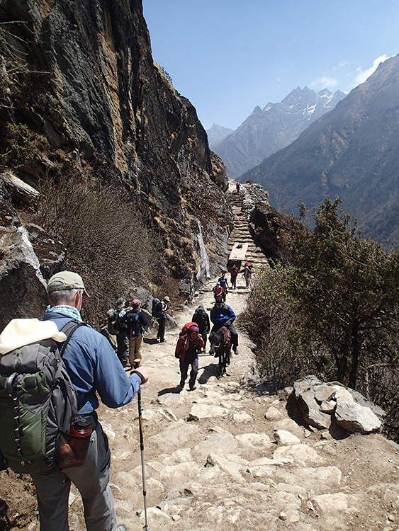 Nepal - Trek up the Khumbu Valley to Everest Base Camp